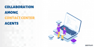 Collaboration Among Contact Center Agents